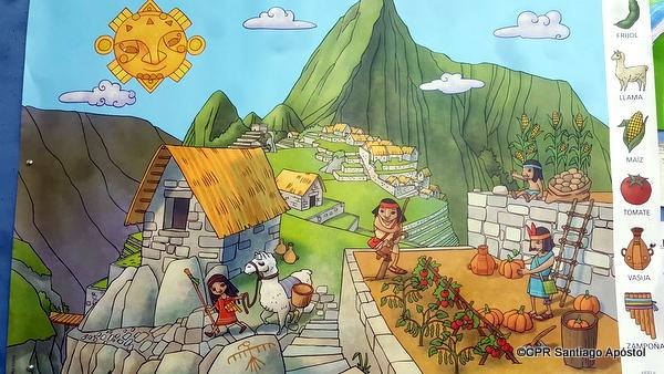 Chegan os Incas