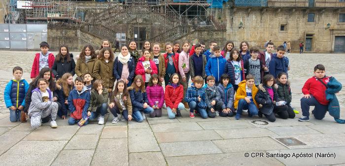 Visitamos a capital de Galicia