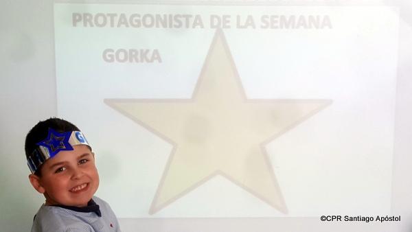 Protagonista: Gorka Pérez