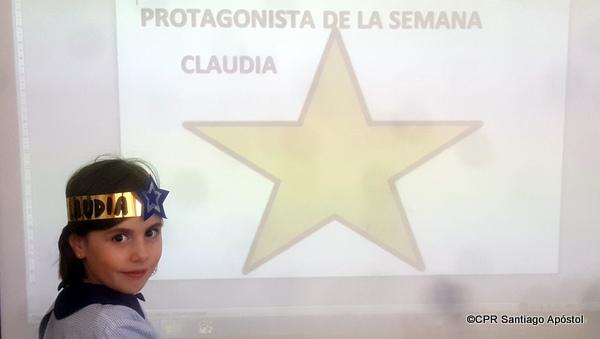 Protagonista: Claudia Teijeiro
