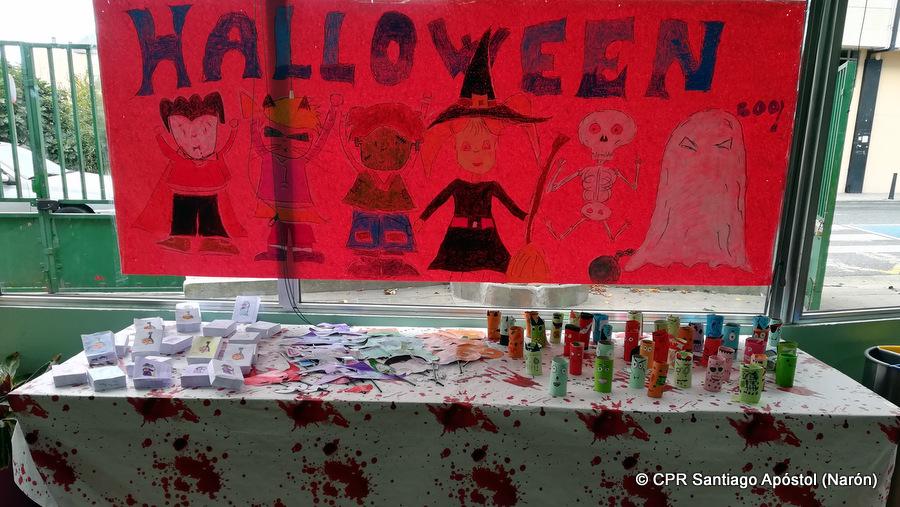 Un Halloween aterrador en primaria
