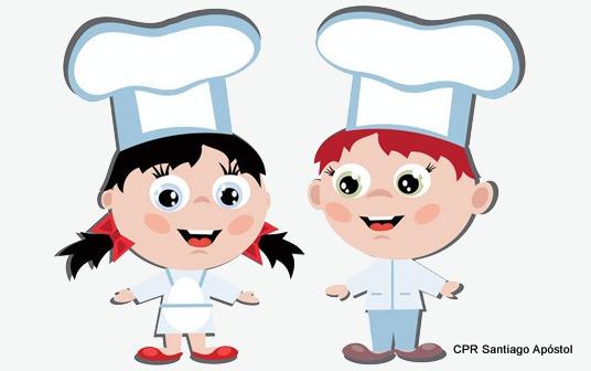 Os chefs de 4º de infantil