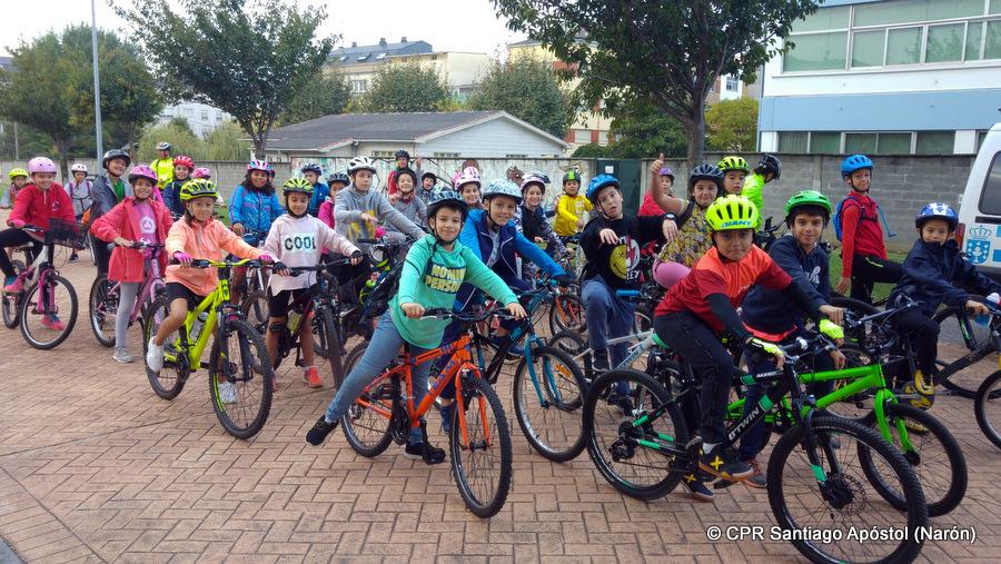 Primeiras pedaladas do curso
