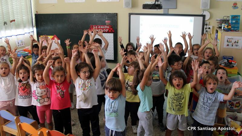 Comezamos co programa TEI en infantil