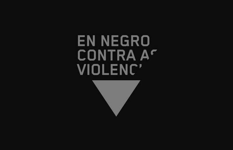 En negro contra as violencias: Marcha ciclista