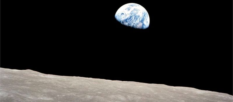 Chegou o home á Lúa?