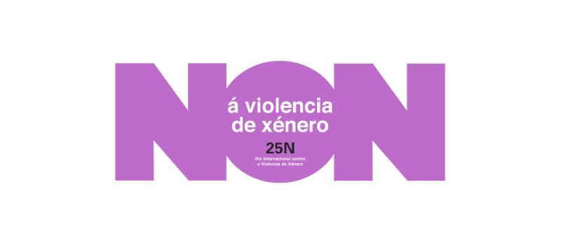 NON á violencia de xénero – 25N